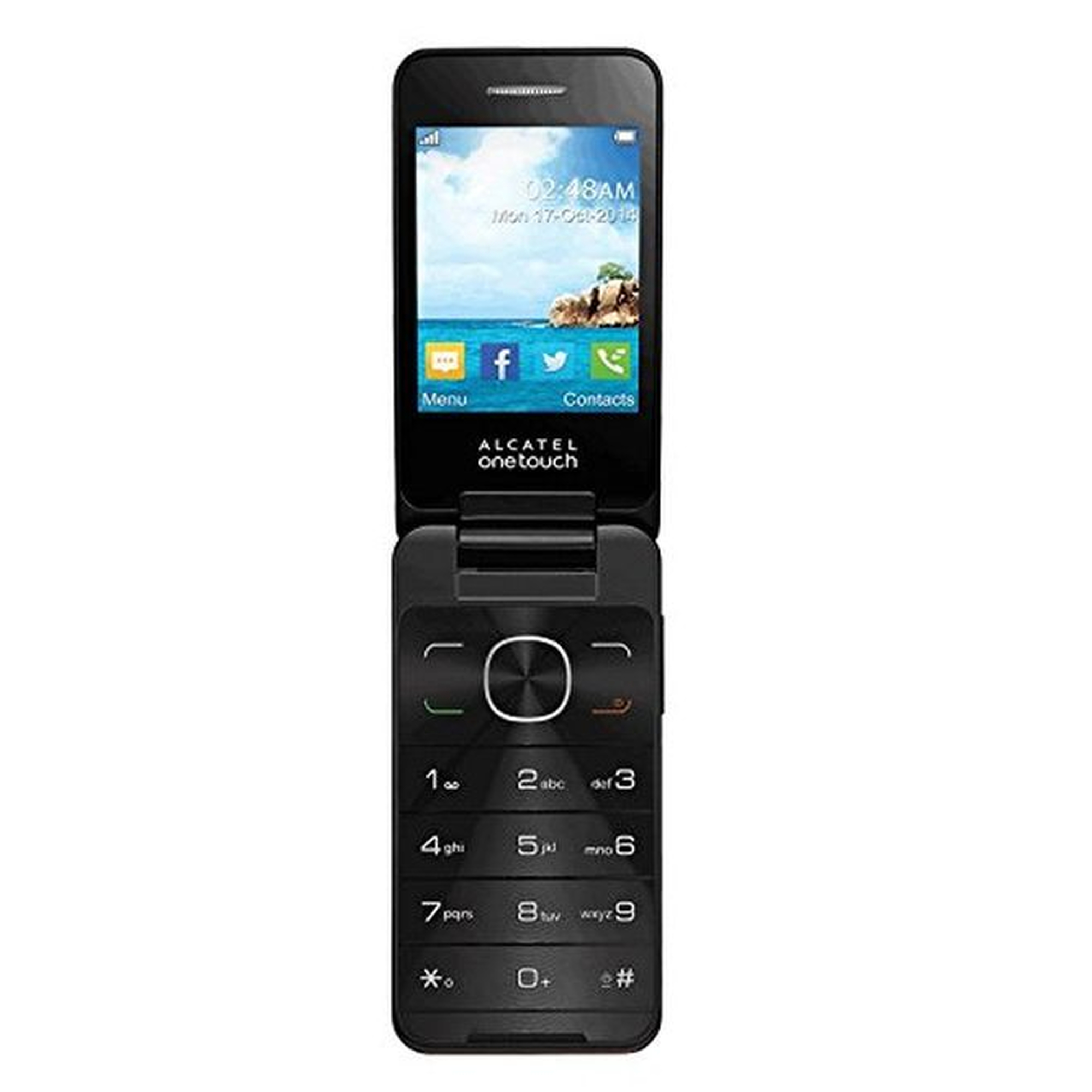 Alcatel One Touch 2012G Klapphandy #gut