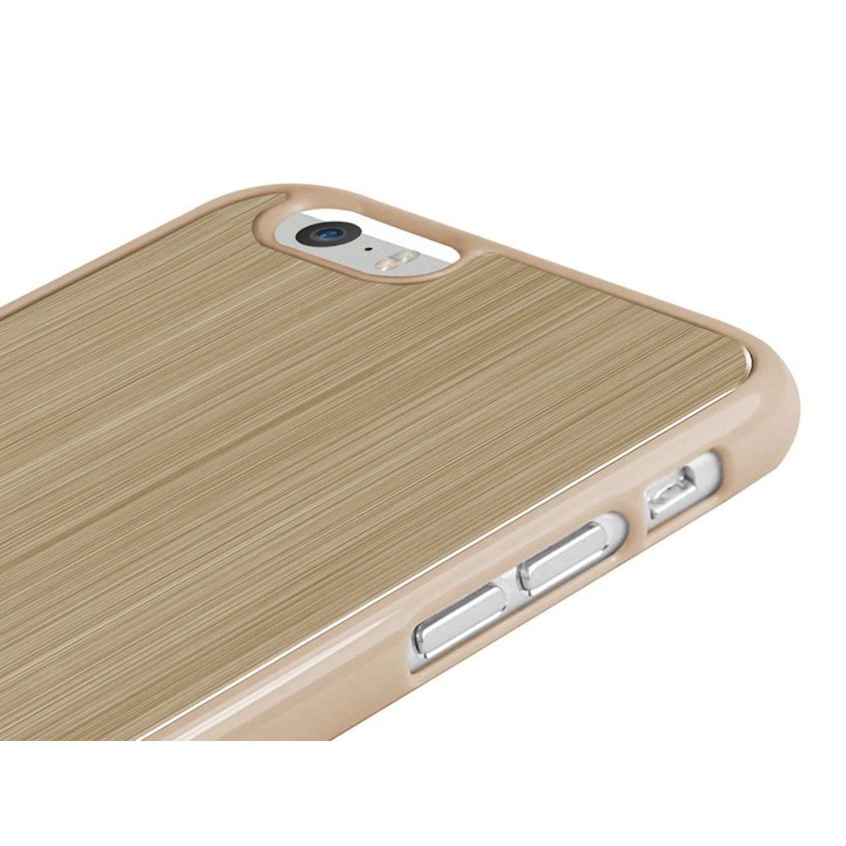 Pinlo Nifty Alu Schutzhülle Cover iPhone 6 gold