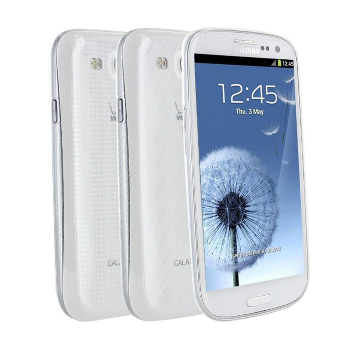 Samsung Original 2x Ultraslim Cover für Galaxy S3...