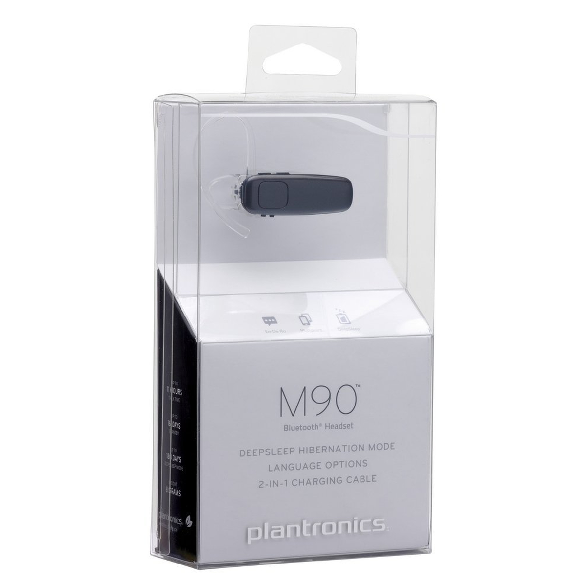 Plantronics M90 Bluetooth Headset #gut