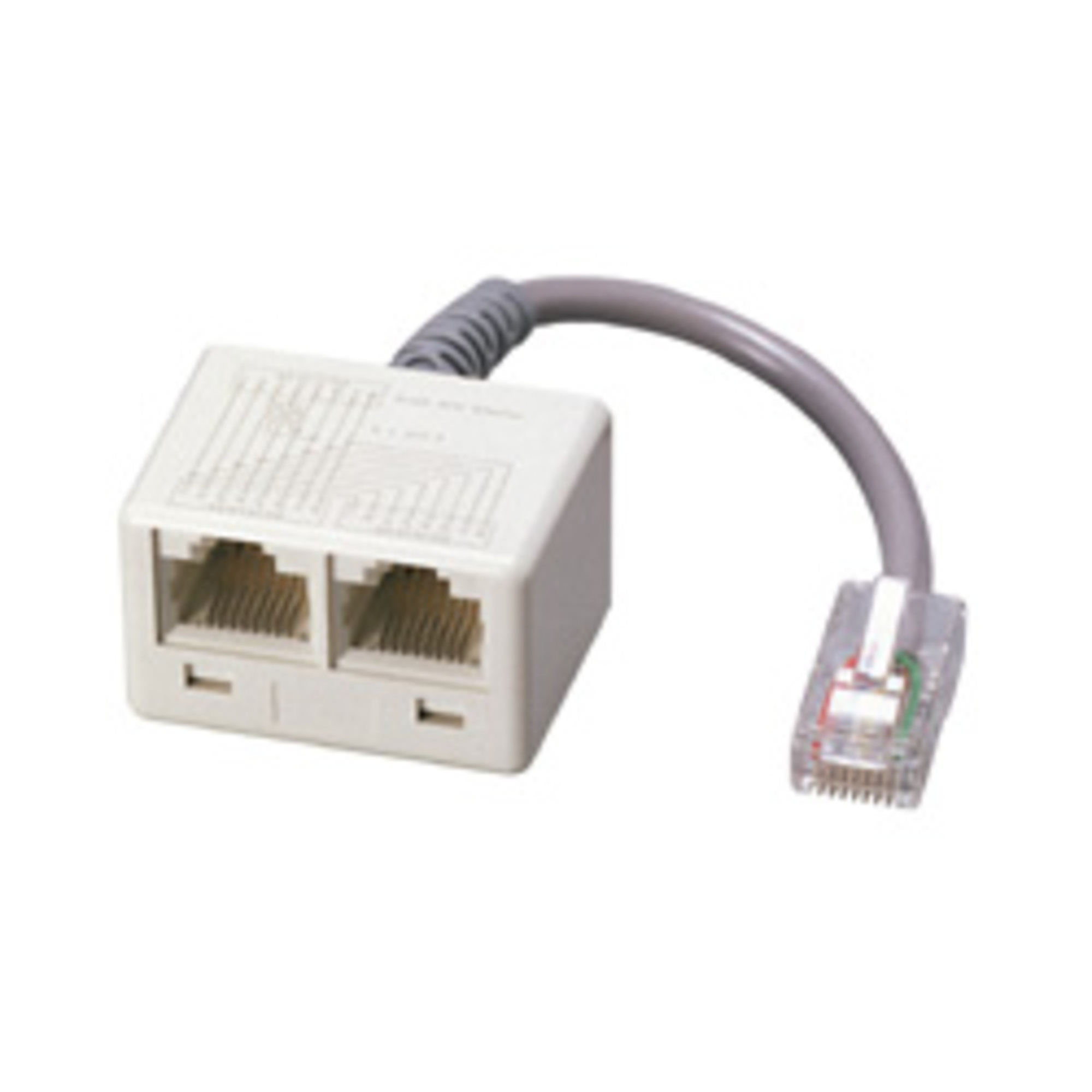 Adapter-ISDN WE8 - 2xWE8-R 0,1m