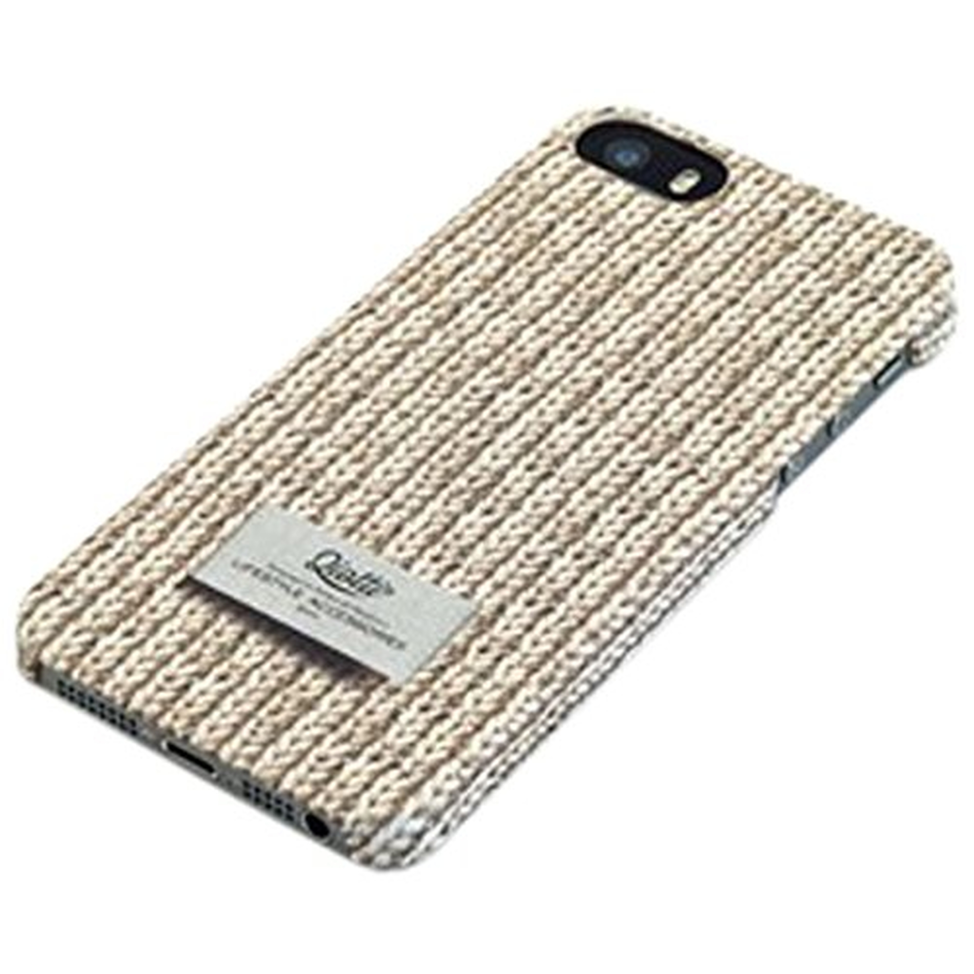 QIOTTI Pull Snap Case f�r Apple iPhone 5/5S Creme