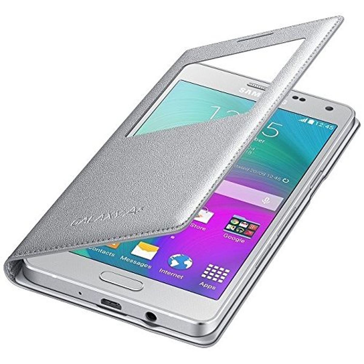 Samsung S-View Cover  Galaxy A5 silber