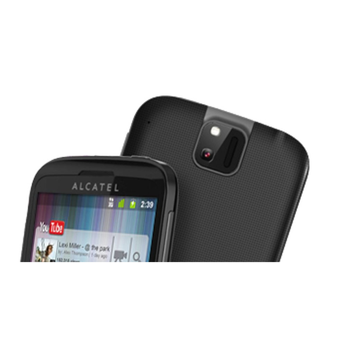 Alcatel One Touch 991T schwarz #gut