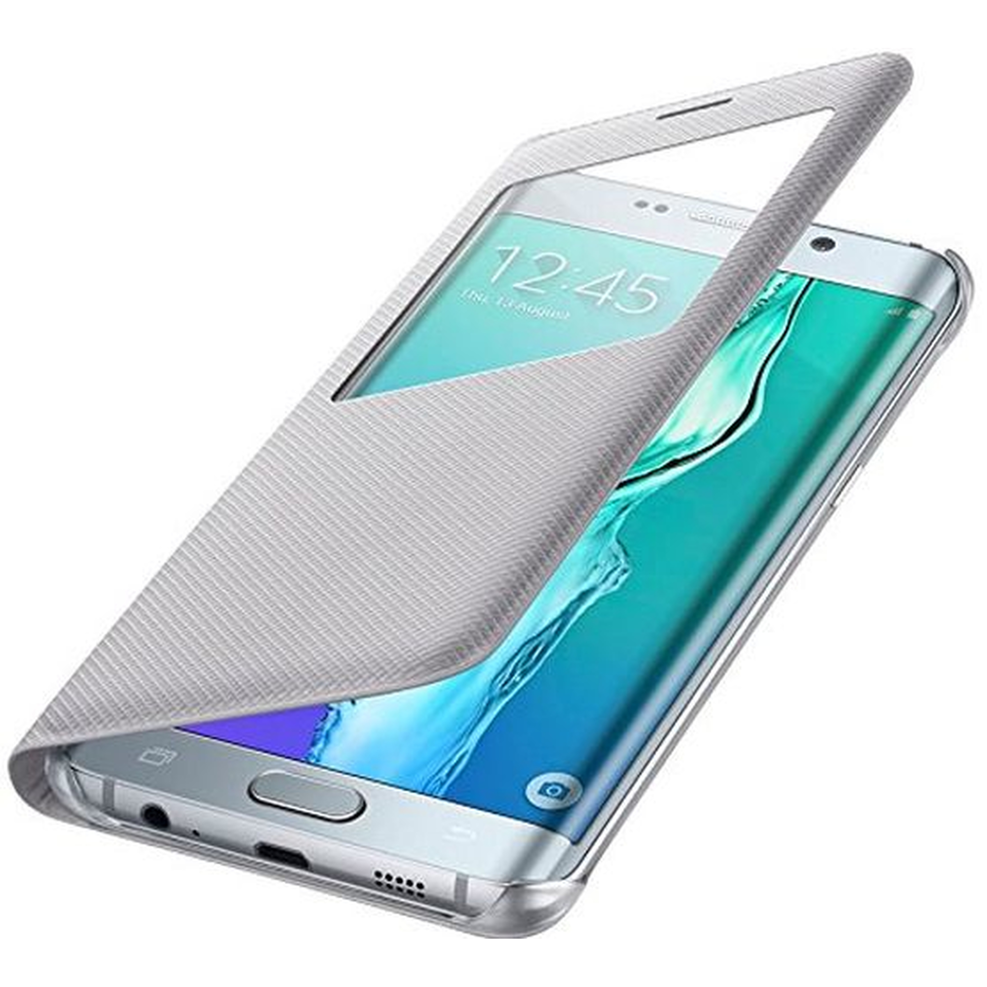 Samsung S-View Cover  Galaxy S6 Edge+ silber