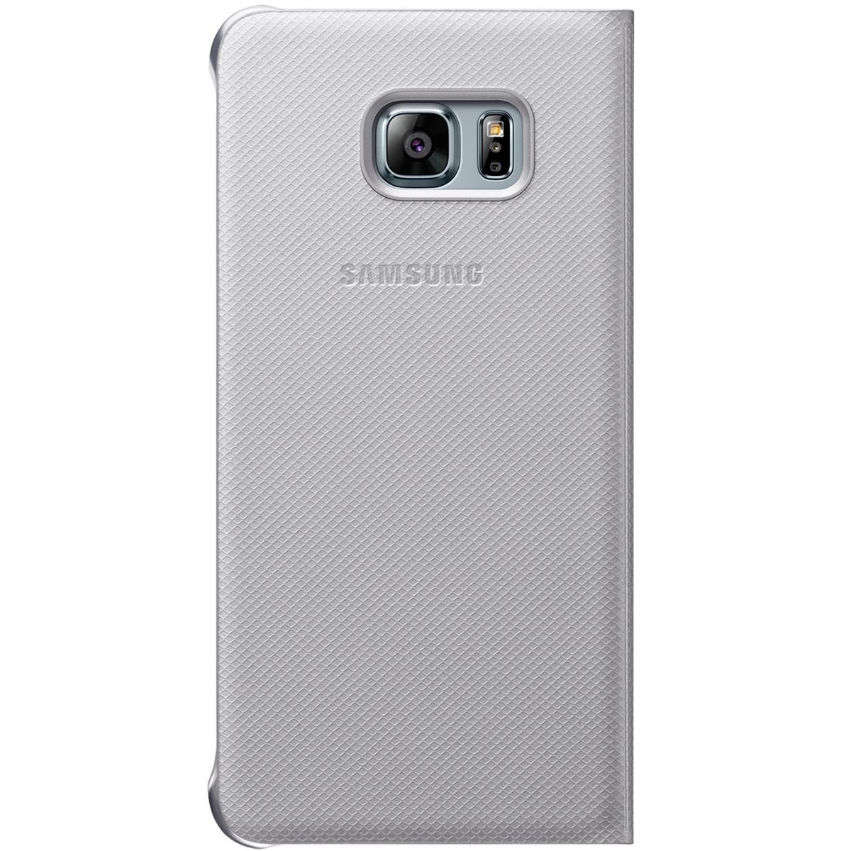 Samsung S-View Cover EF-CG928 f�r Galaxy S6 Edge+ silber