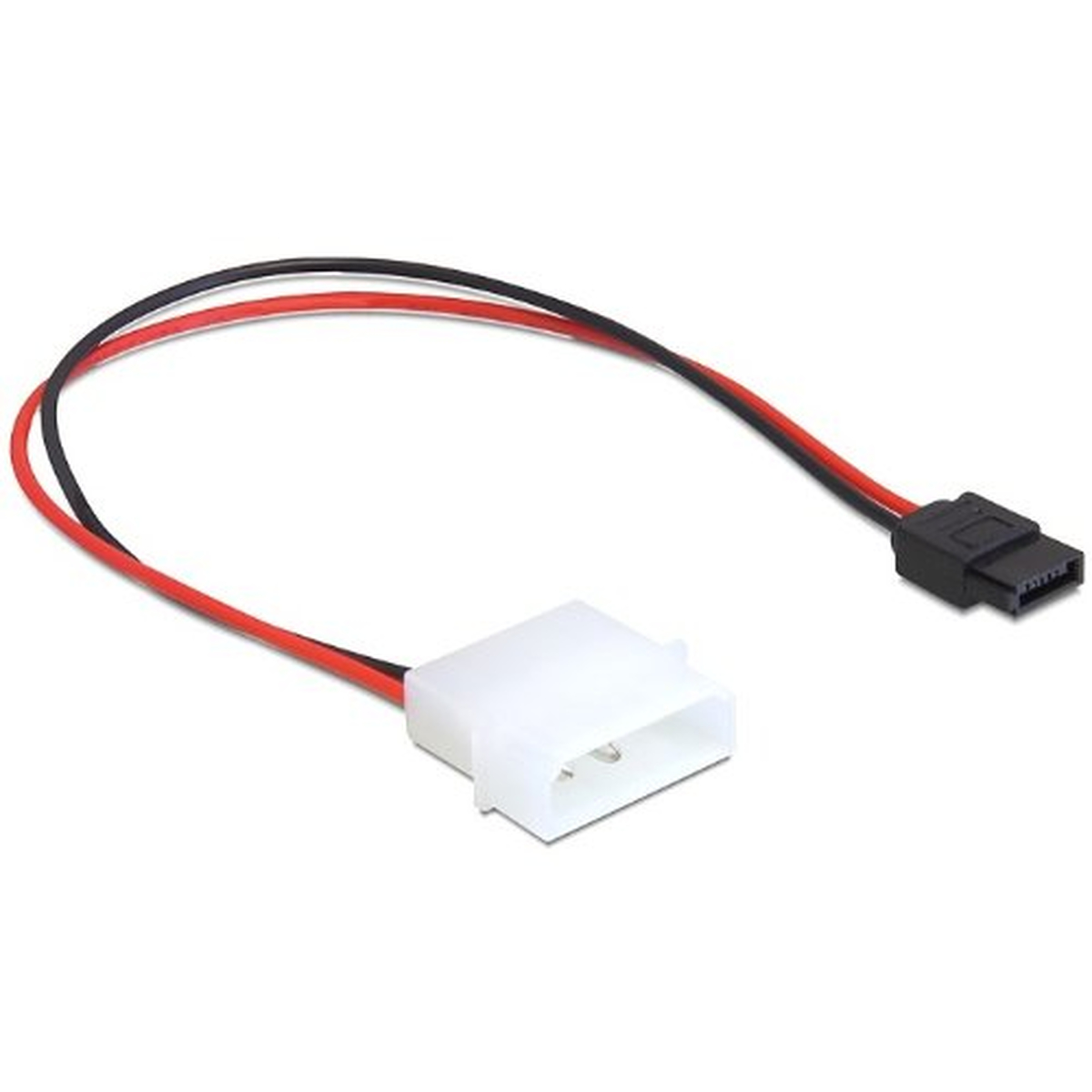 DeLOCK Kabel Power IDE Molex Stecker > Power SATA 6 Pin
