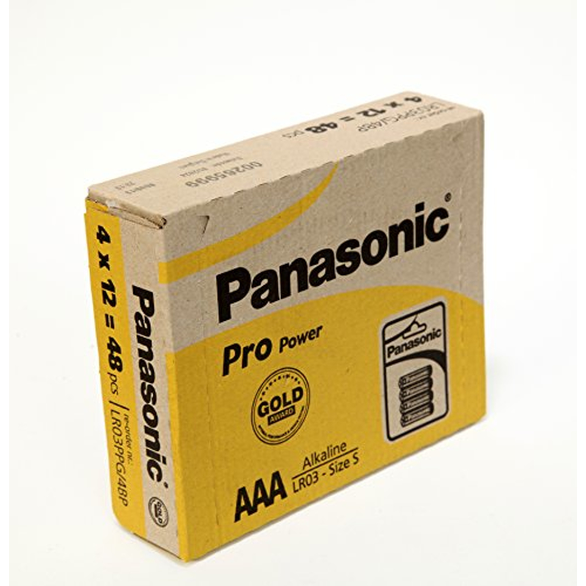 Panasonic Batterie Alkali Pro Power LR03PPG Micro