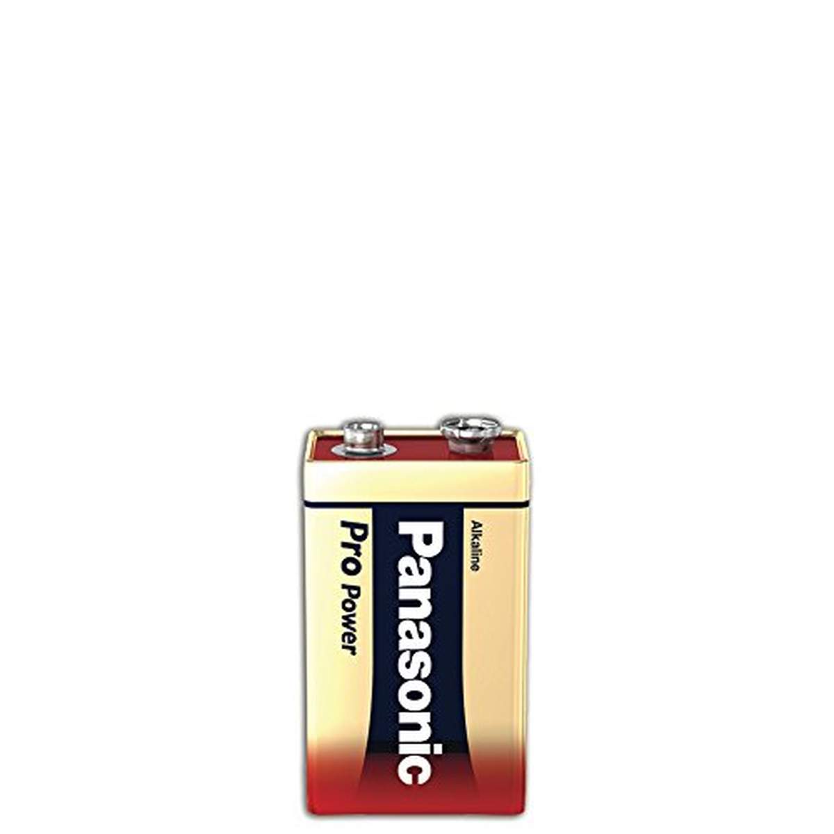 Panasonic Batterie Alkali Pro Power 6LR61PPG, 9V