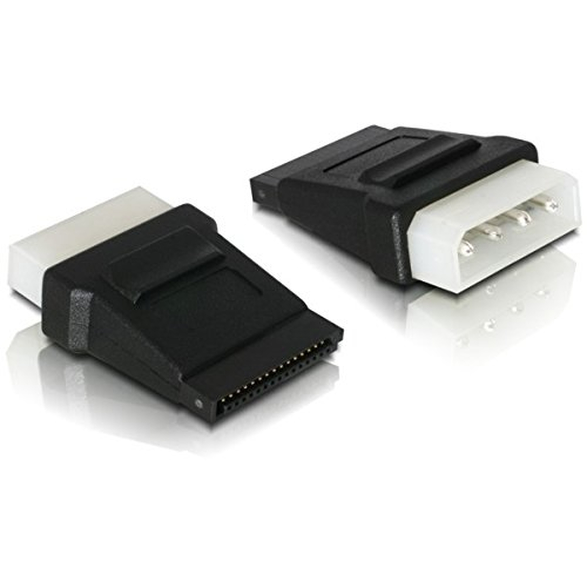 DeLOCK Adapter Power SATA HDD > 4pin Stecker