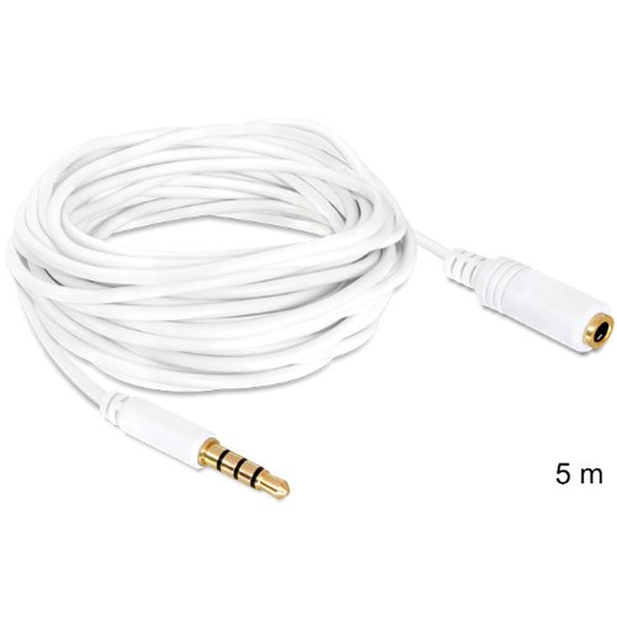 DeLOCK Kabel Audio Klinke 3,5 mm Stecker / Buchse