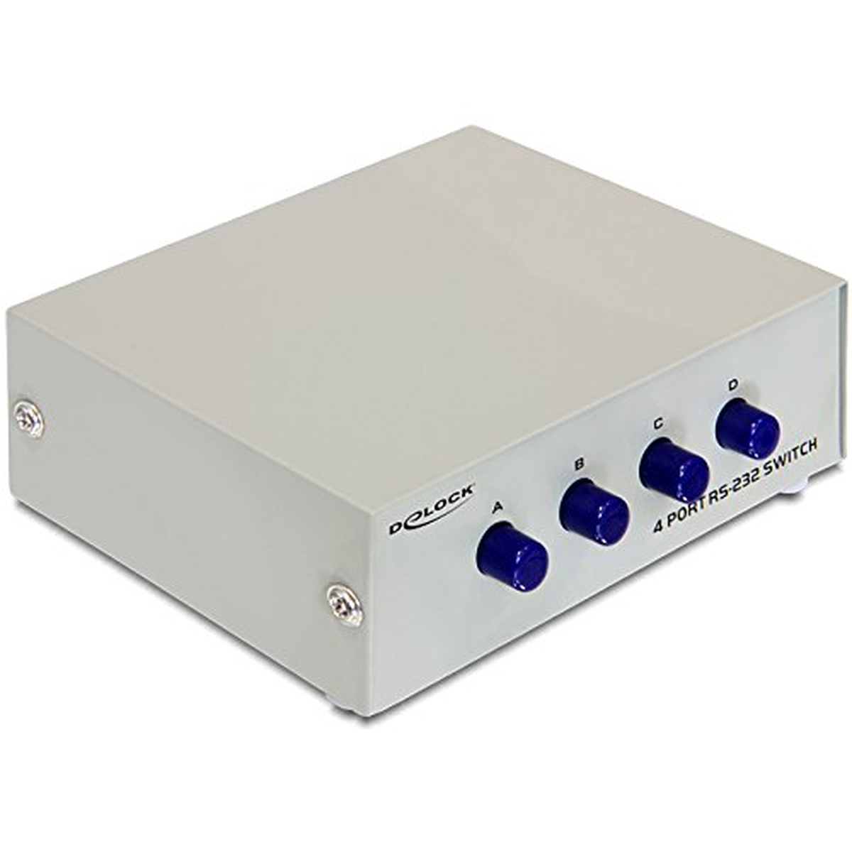 DeLOCK Seriell Switch RS-232 4-Port manuell