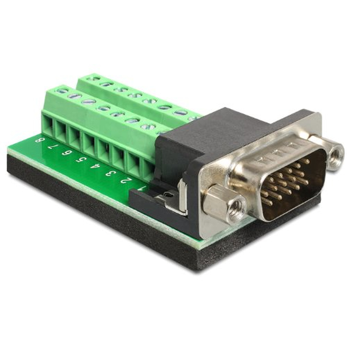 DeLOCK Adapter VGA Stecker > Terminalblock 16 Pin