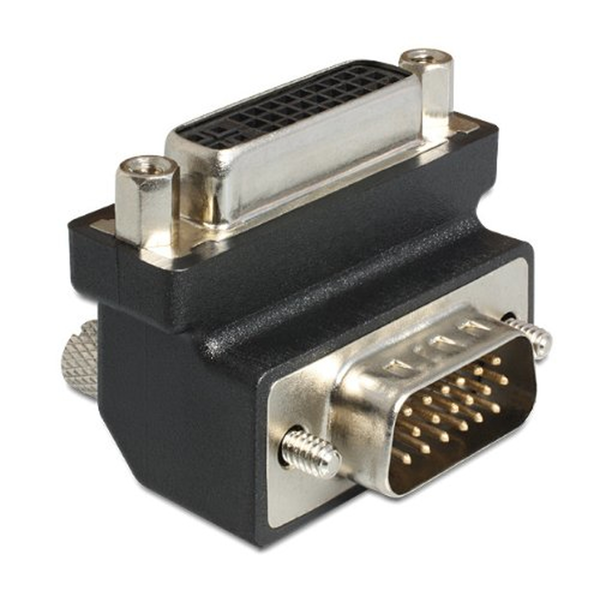 DeLOCK Adapter DVI 24+5 Pin Buchse > VGA 15 Pin