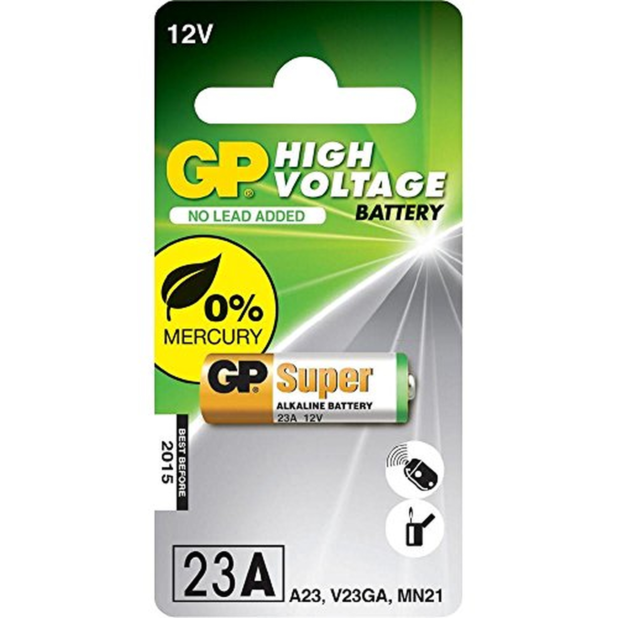 GP Batterie Alkaline, 23A, MS21, 12V