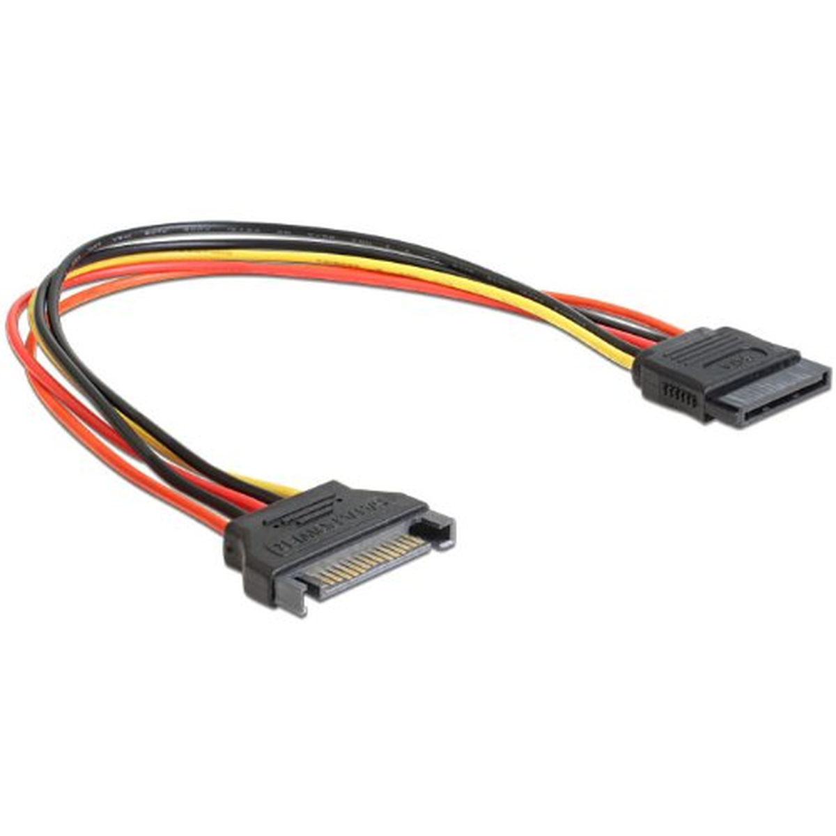 DeLOCK Kabel Power SATA 15pin St -> SATA 15pin Bu