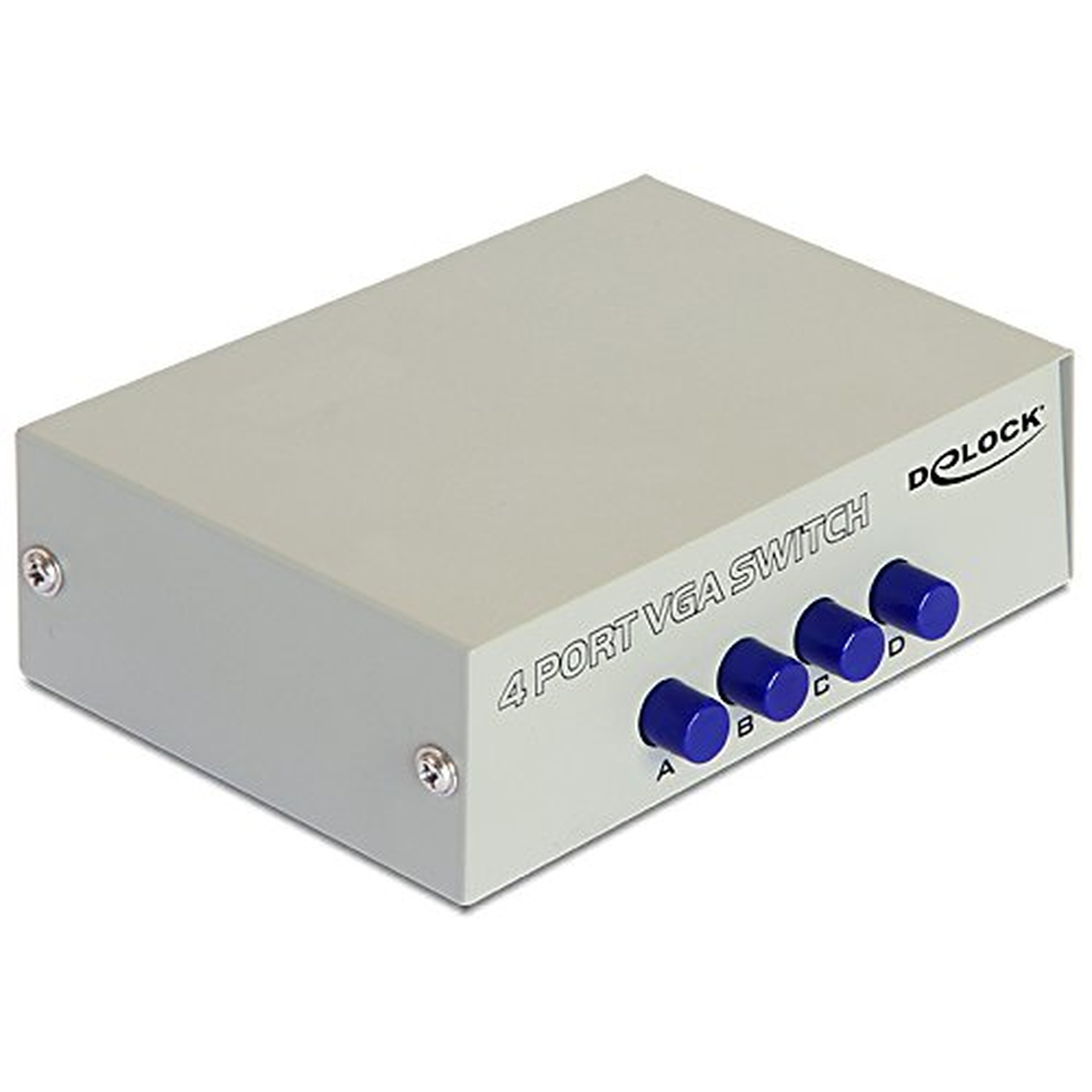 DeLOCK Switch 4-port VGA manuell bidirektional