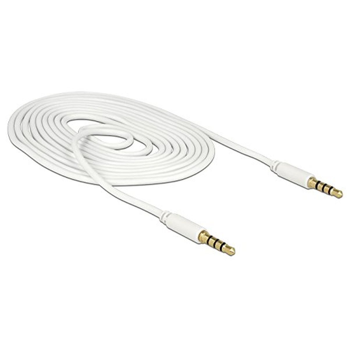 DeLOCK Kabel Klinke 4 Pin 3,5 mm Stecker > Stecker n