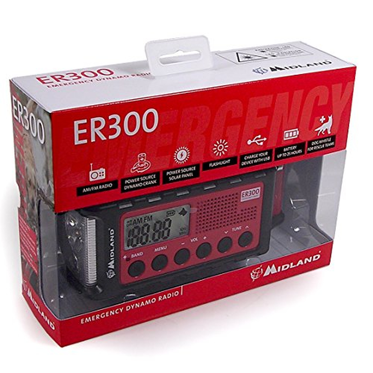 Midland ER300 Outdoor-Radio, UKW