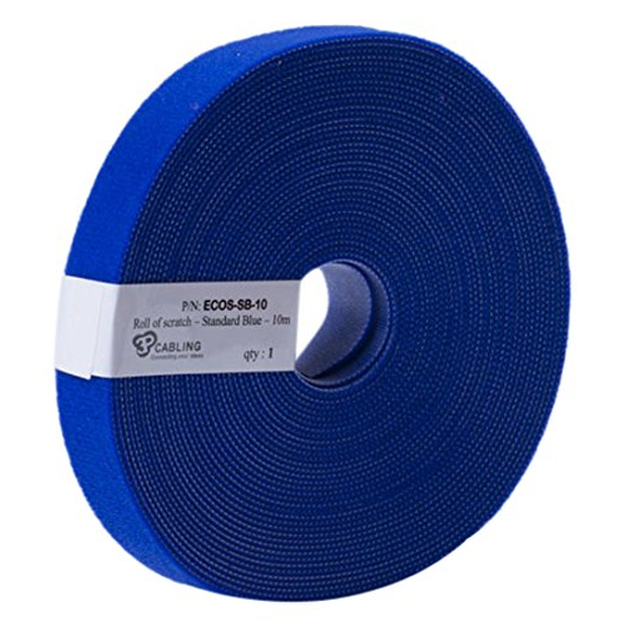 Patchsee Eco-Scratch, Kabelbinder, 10m lang,19mm breit, blau