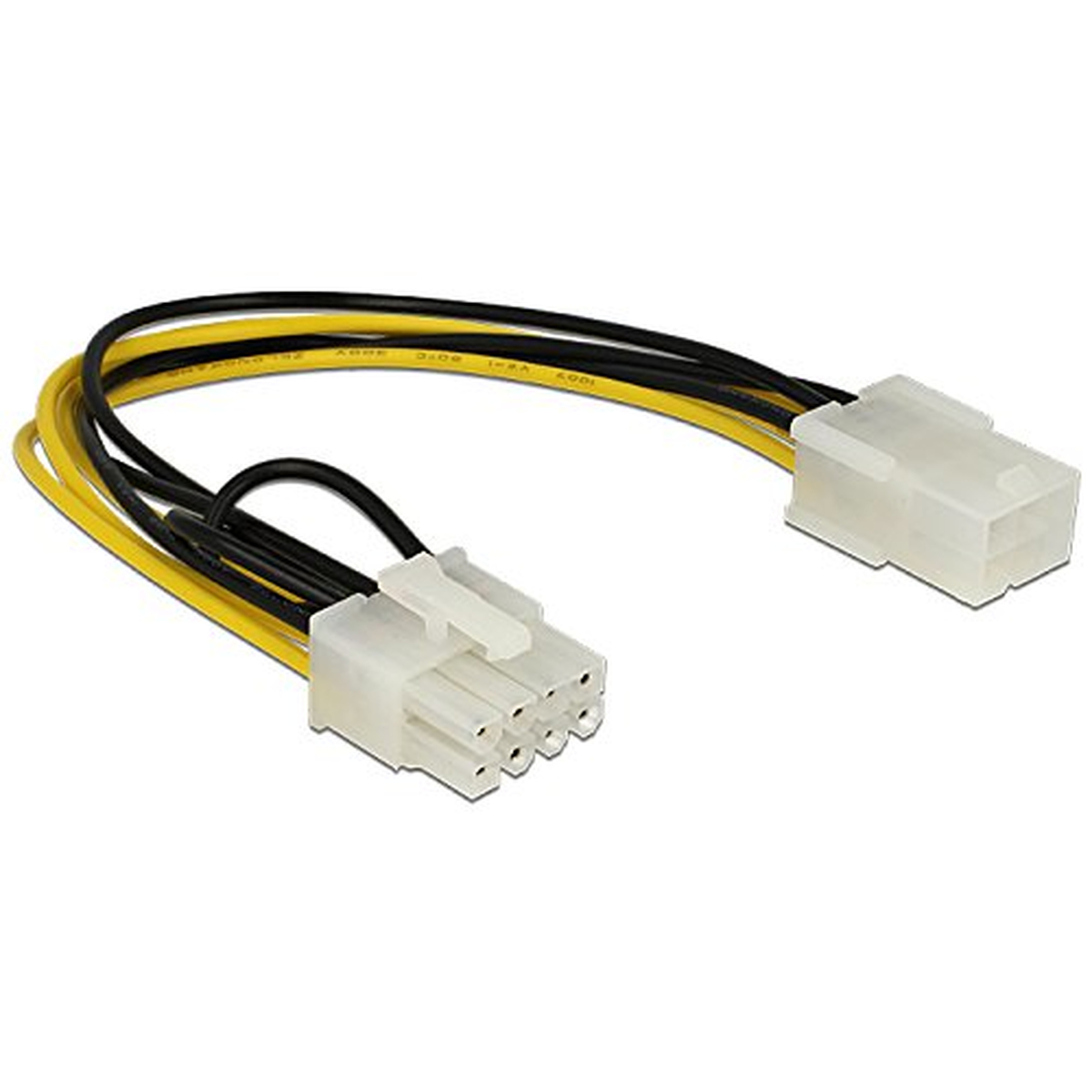 DeLOCK Kabel Power PCIE 6 Pin Bu > 8 Pin St PCIE