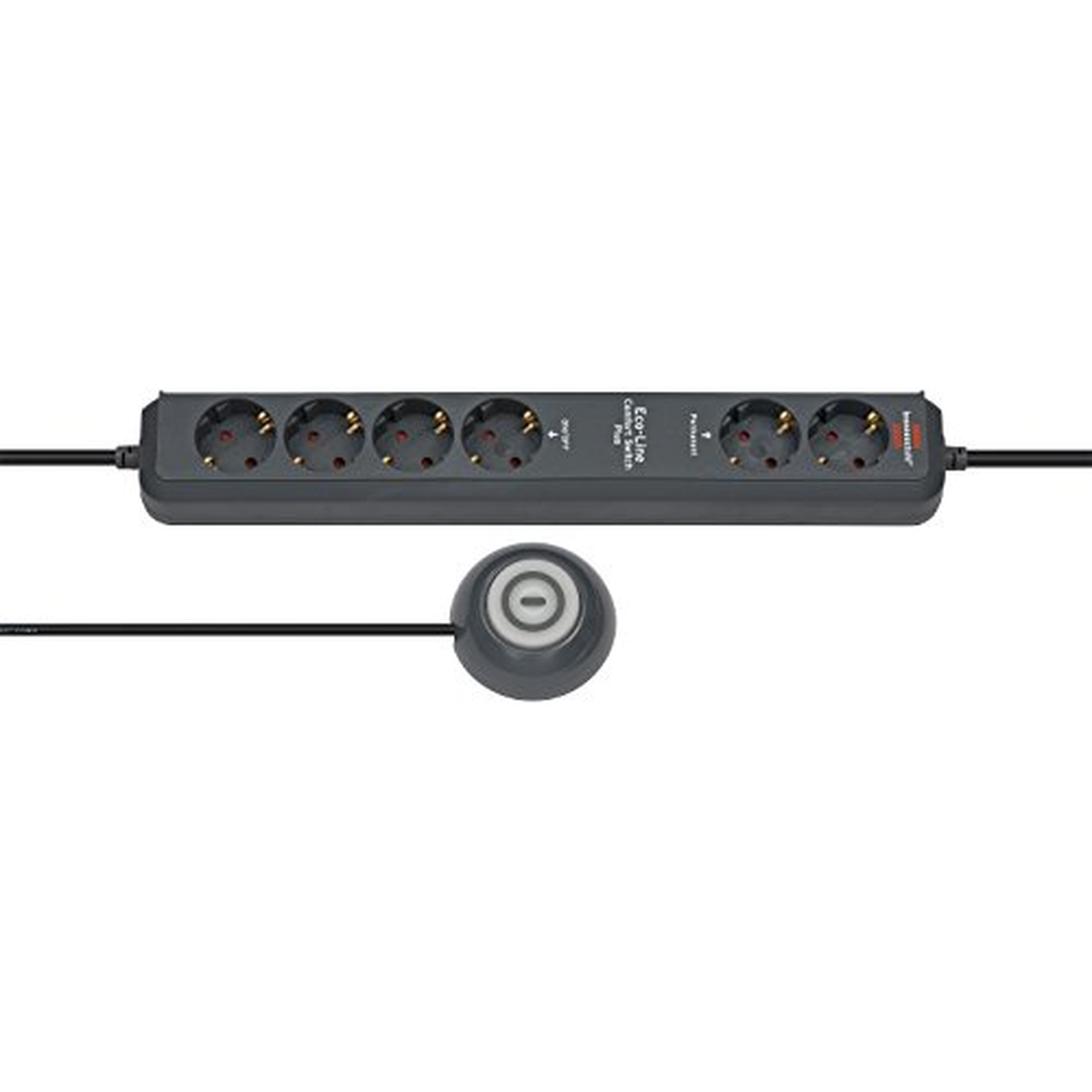 Brennenstuhl Eco-Line Comfort Switch Plus CSP 24, schwarz