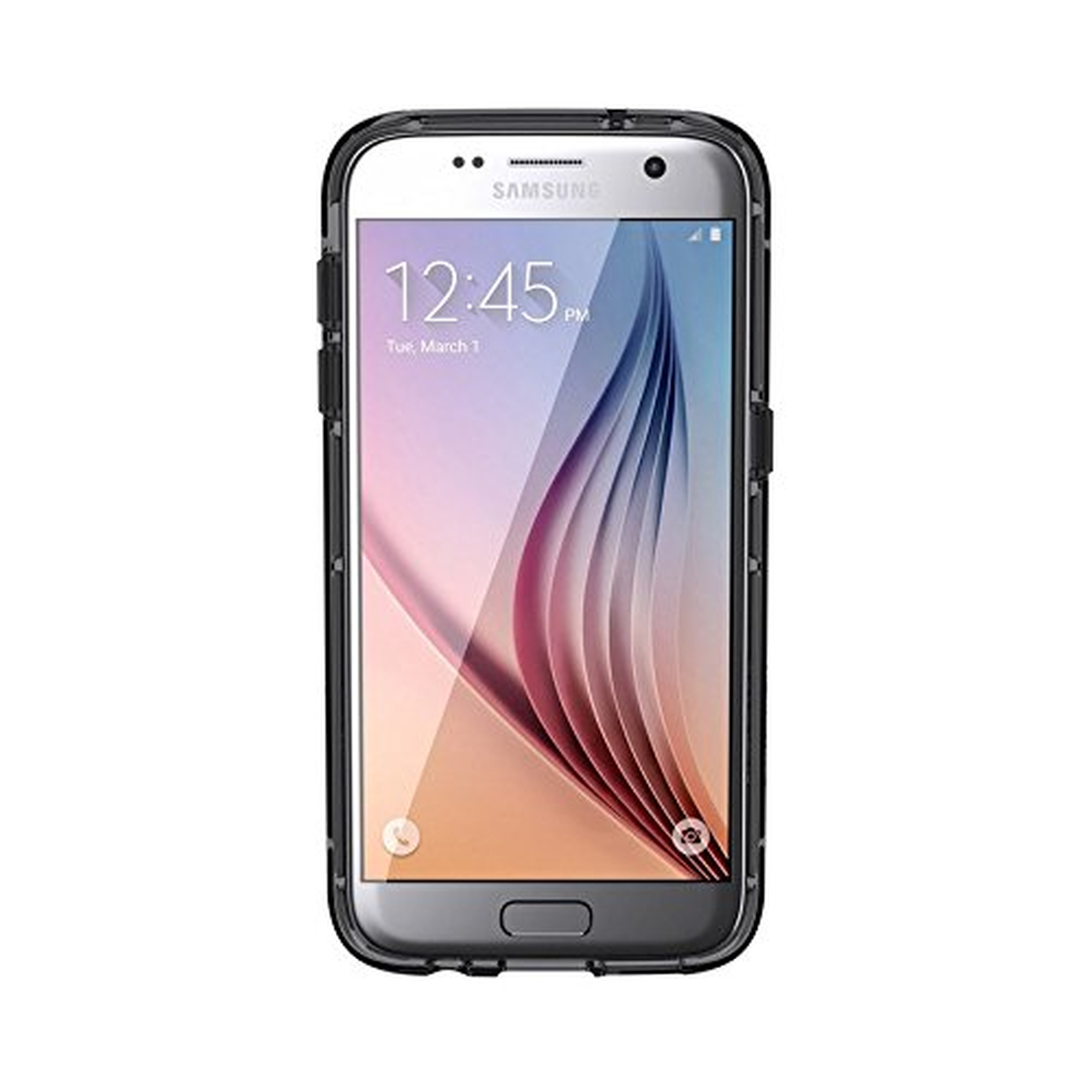 Griffin Survivor for Galaxy S7 Black/Smoke/Clear