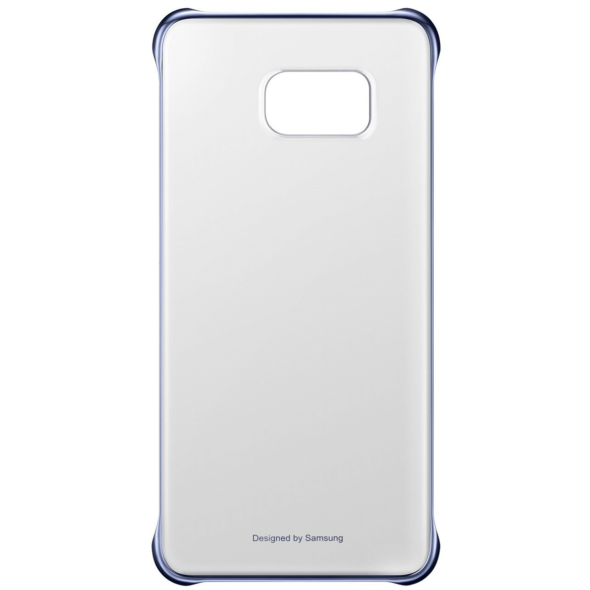 Samsung Clear Cover Galaxy S6 Edge+ blau-schwarz