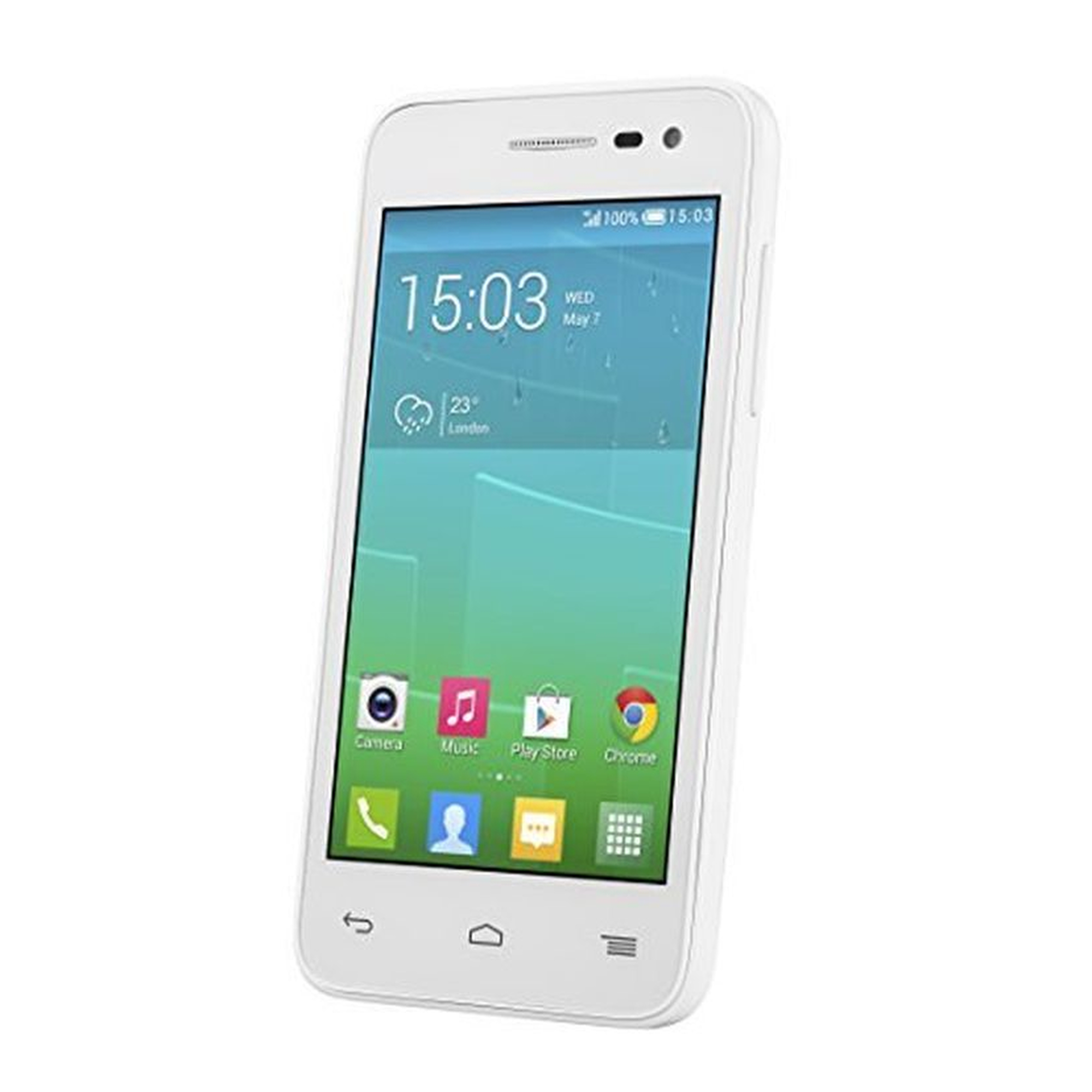 Alcatel Onetouch Pop S3 LTE Smartphone weiß