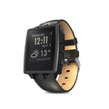 Pebble 401BLR Steel Smart Watch matt schwarz
