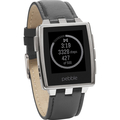 Pebble 401BLR Brushed Edelstahl Smart Watch