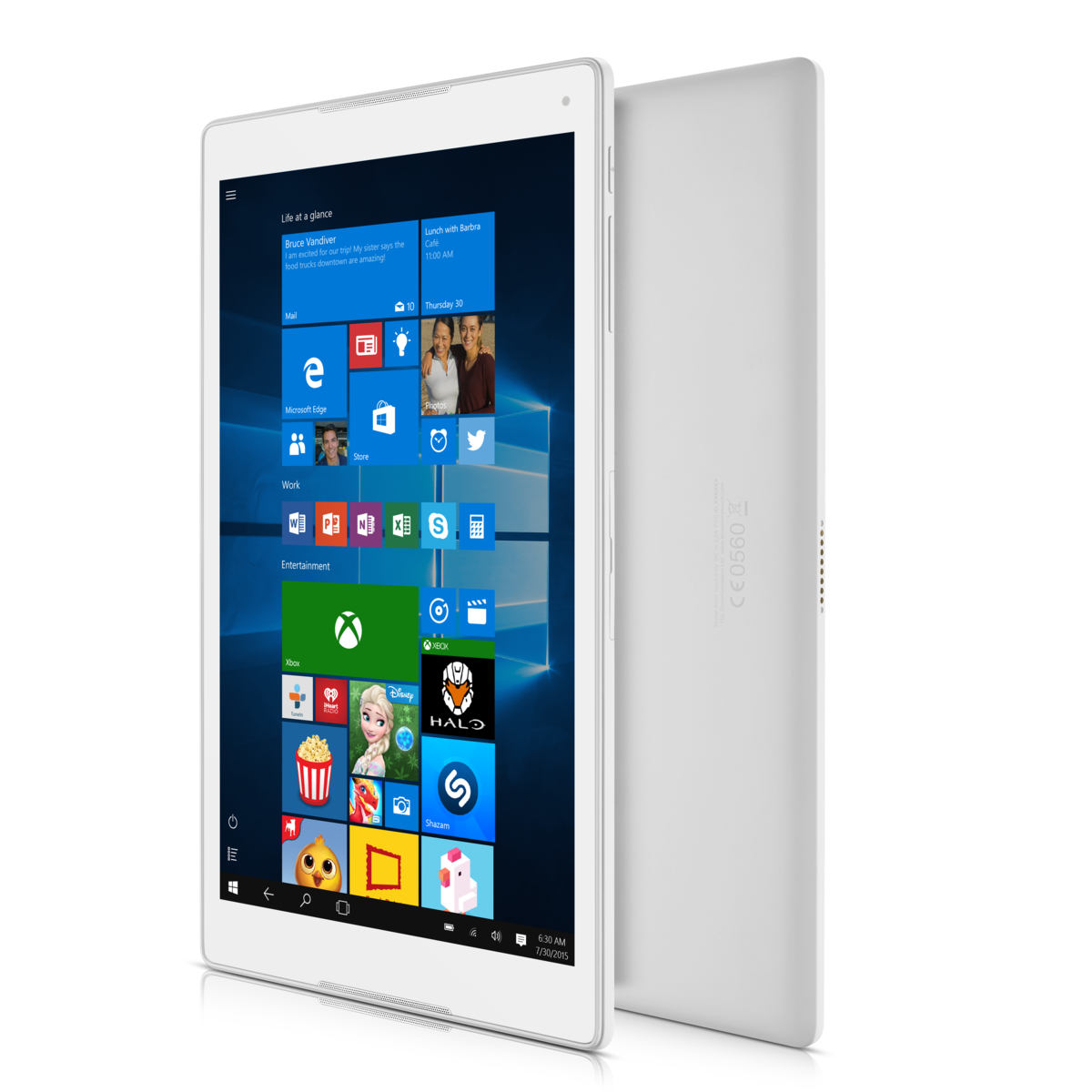 ALCATEL Plus 10 25,65 cm Windows 10 Tablet LTE weiß #wieneu