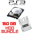 Sony 160GB Festplatte f�r PS3 Superslim + HDD Mounting...