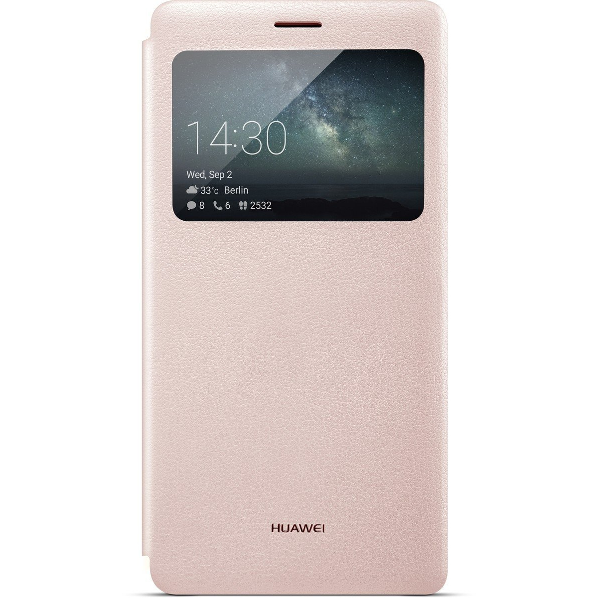Huawei View Flip Cover Mate S rose