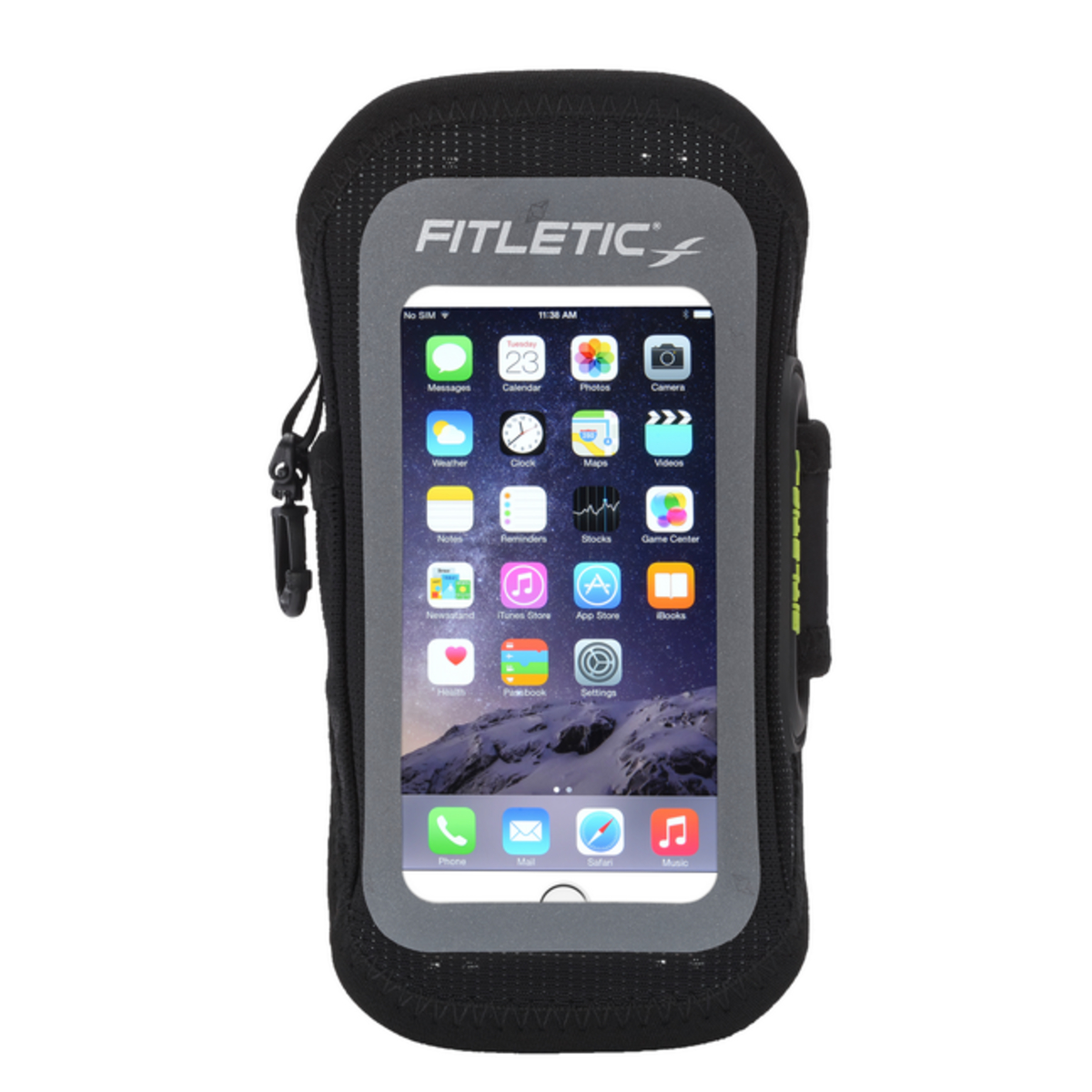 Fitletic Smartphone Armtasche EASY gr. S/M (schwarz)