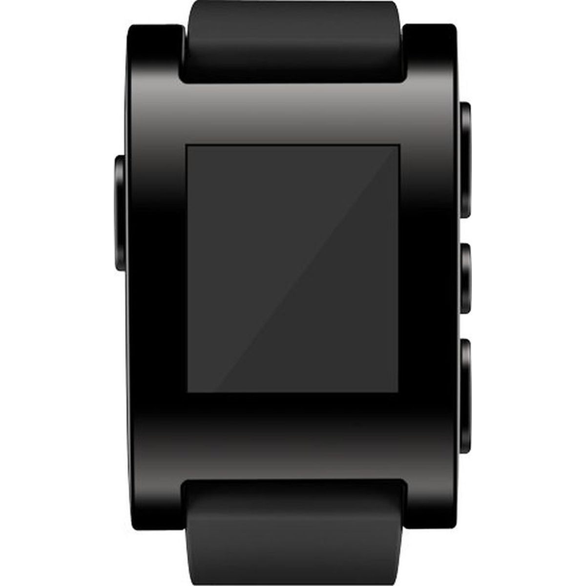 Pebble Smartwatch 301BL schwarz #gut