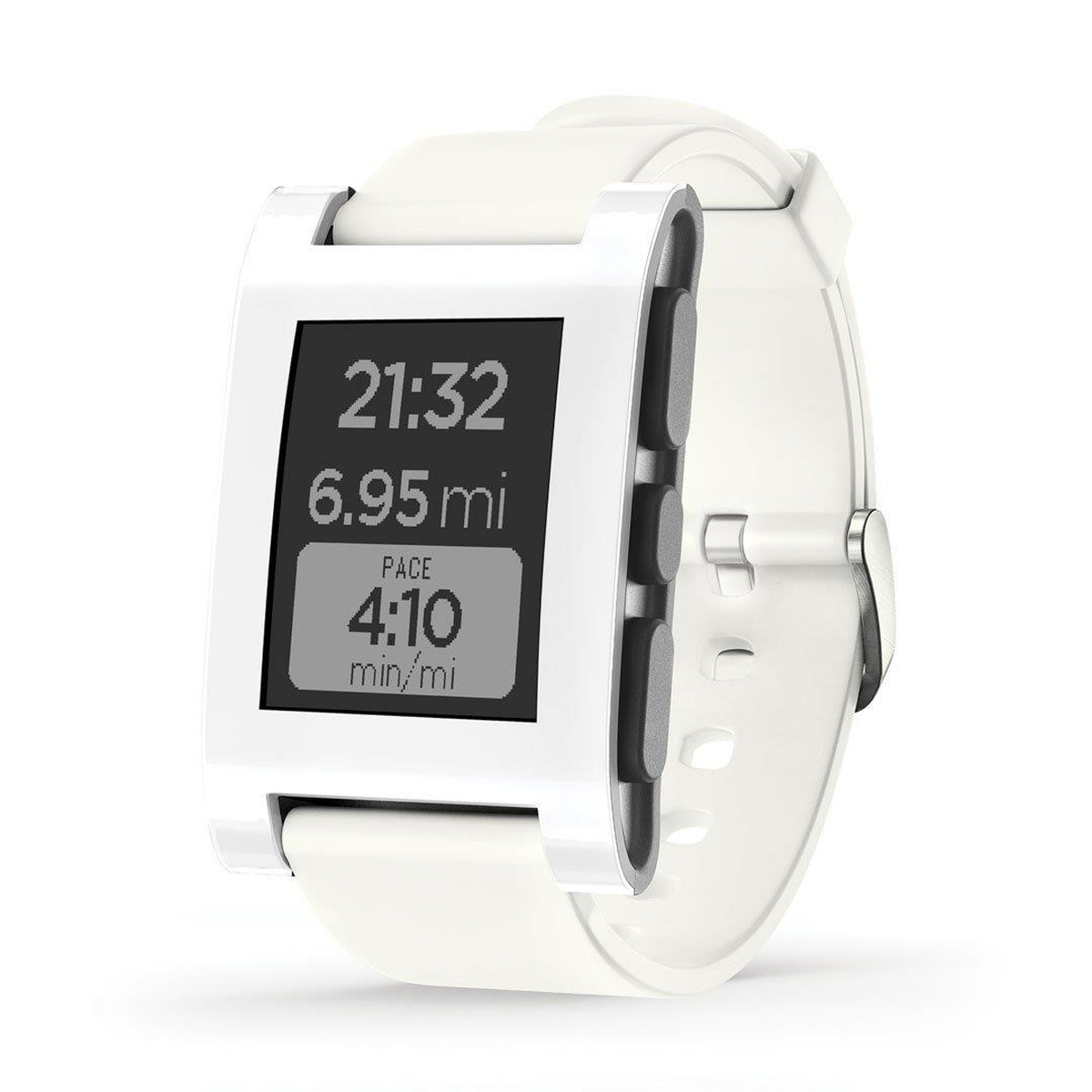 Pebble 301WH Smart Watch weiß