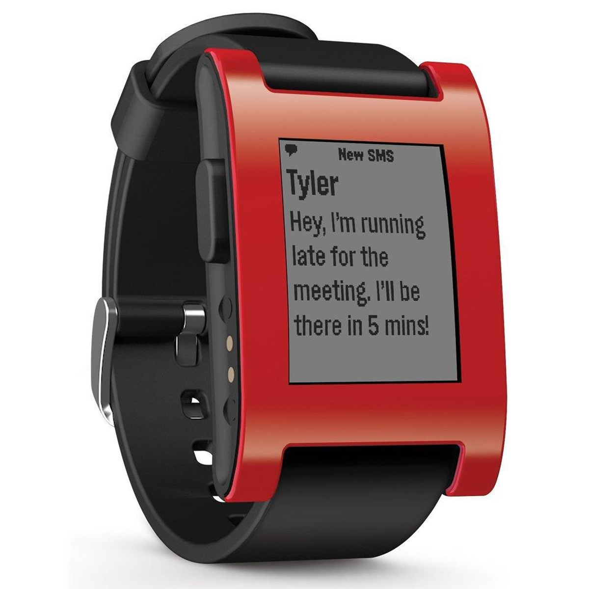 Pebble Smart Watch 301RD rot