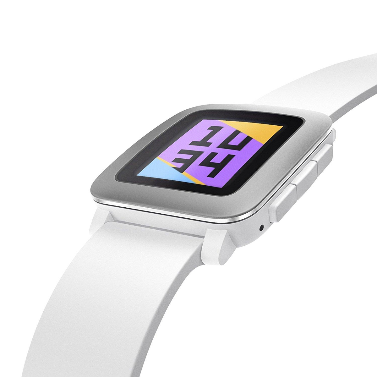 Pebble Time Smart Watch weiß #gut