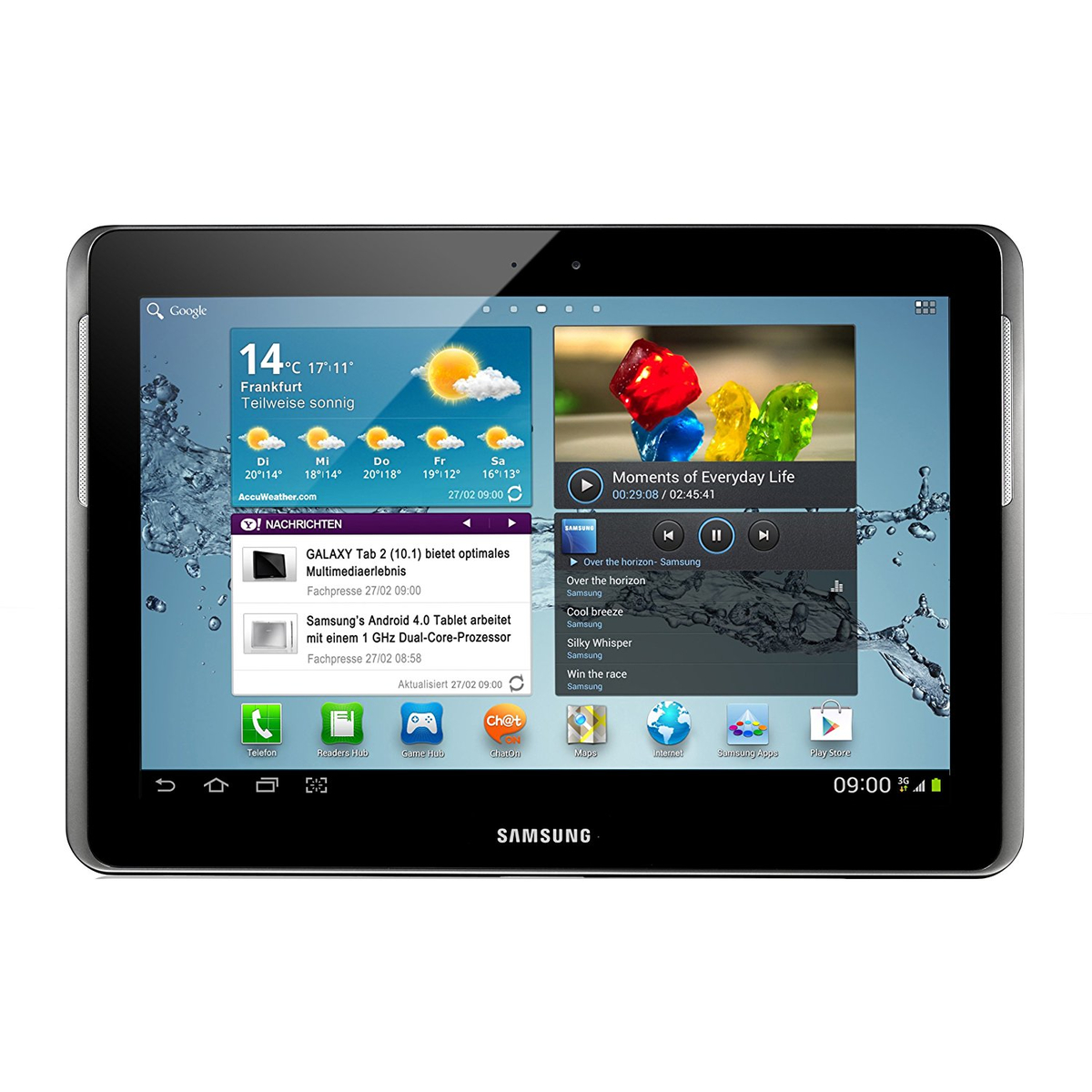 Samsung Galaxy Tab2 silber 16GB WIFI 3G Android Tablet PC