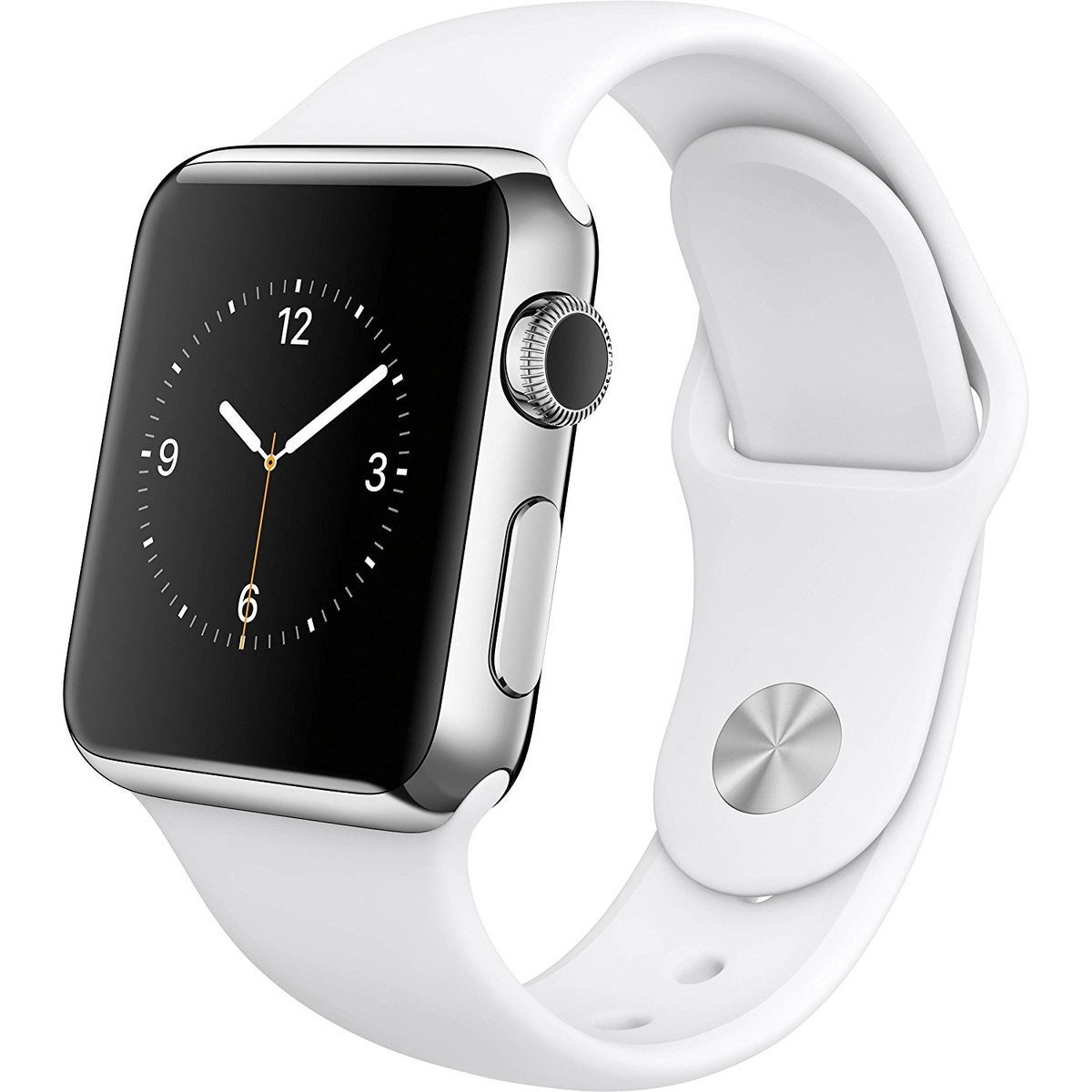 Apple Watch Stainless Steel Case Sport Band Wi-Fi...