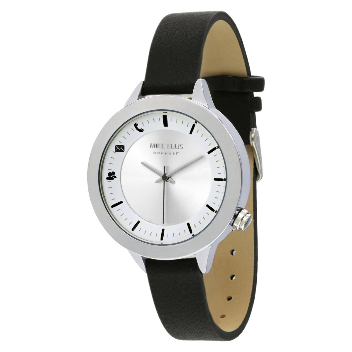 Mike Ellis Hybrid Smartwatch Watch Liz Edelstahl