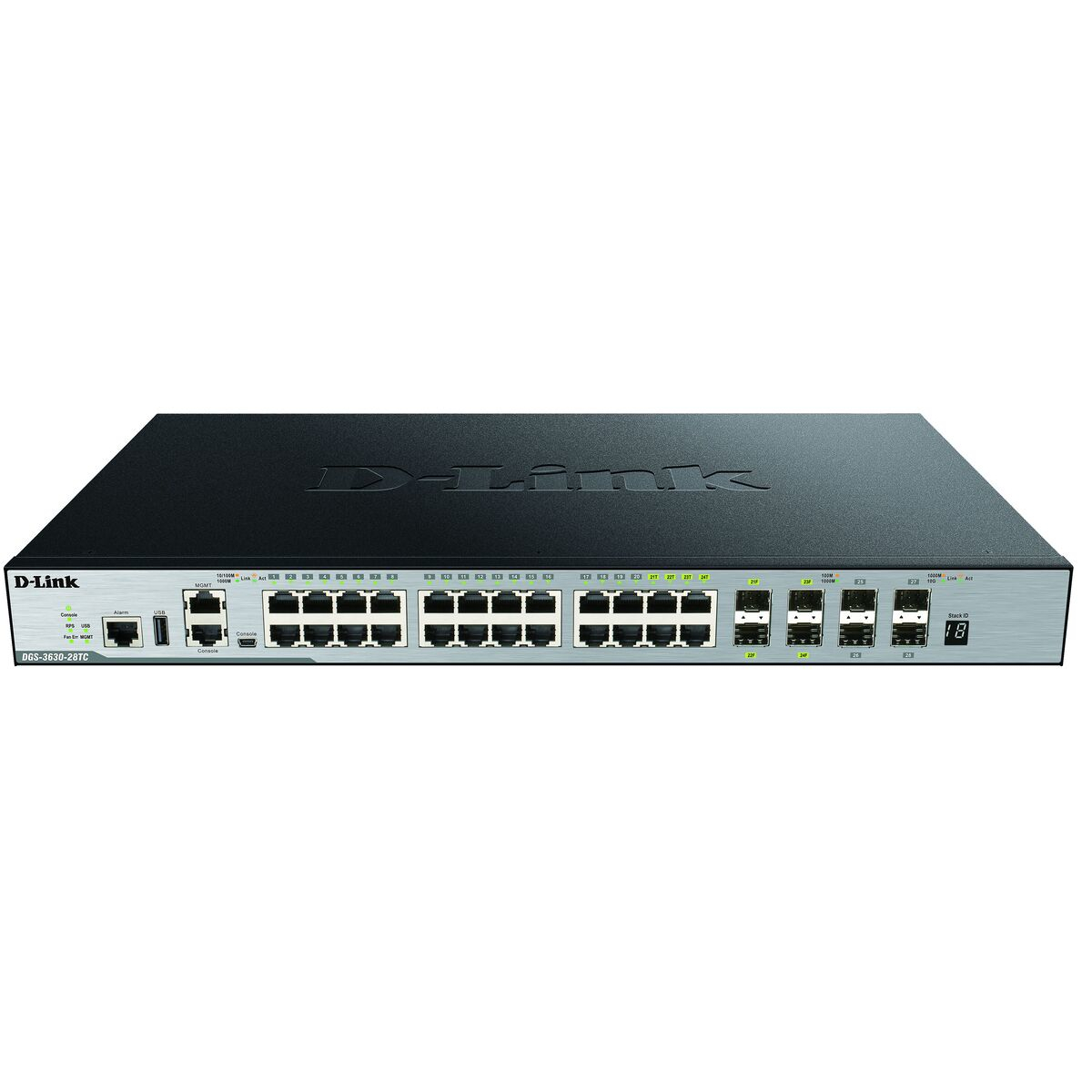 D-Link DGS-3630-28TC/SI 28-Port Layer 3 Gigabit Stack Switch