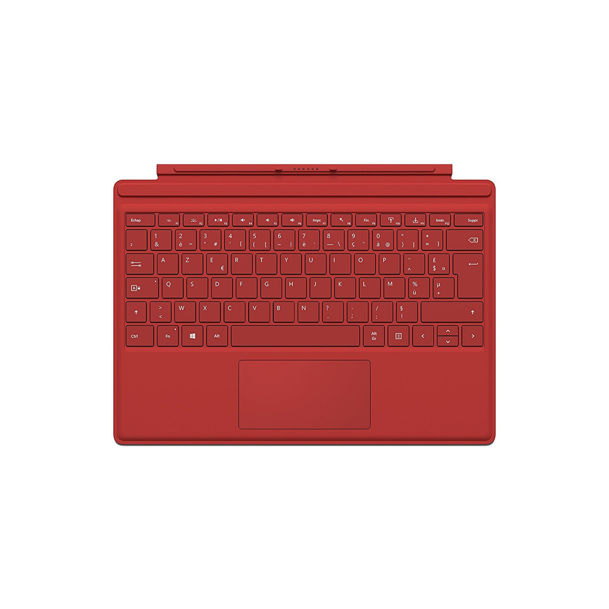 Microsoft Tastatur Surface TYPE Cover PRO 3 rot