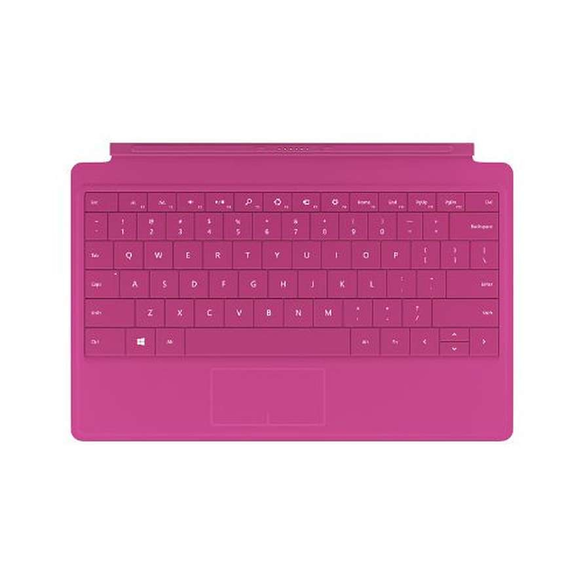 Microsoft Surface Type Cover 2 Tastatur magenta