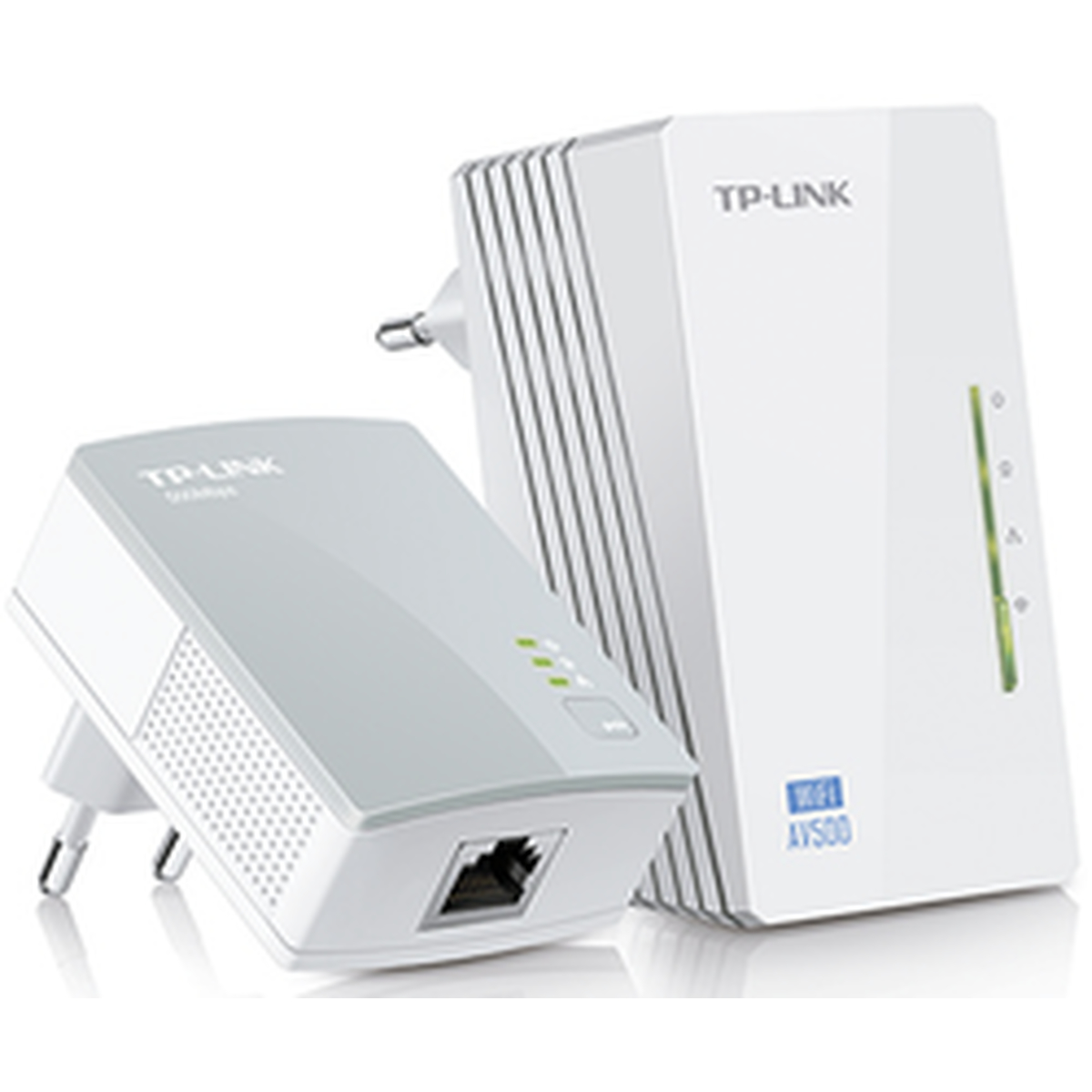 TP-Link TL-WPA4220KIT(DE) AV500 Powerline WLAN 2er (2x LAN)
