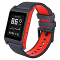 Pebble 2 HR Smart Watch schwarz/rot
