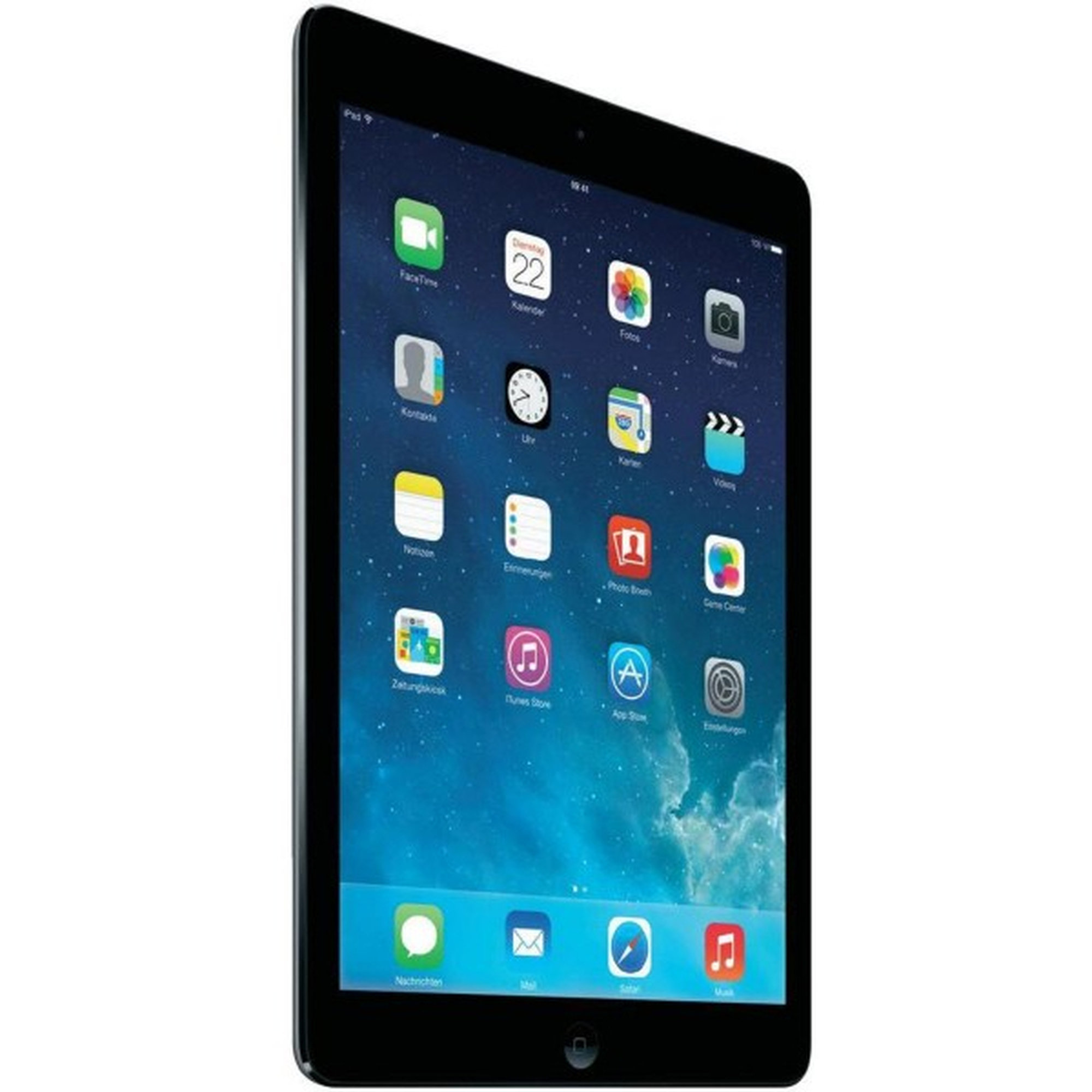 ipad air 16gb spacegrau wlan ios tablet pc ohne vertrag 9. Black Bedroom Furniture Sets. Home Design Ideas