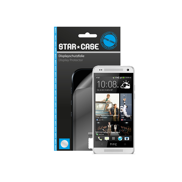 Display Protector HTC One mini Star-Case ® Clear