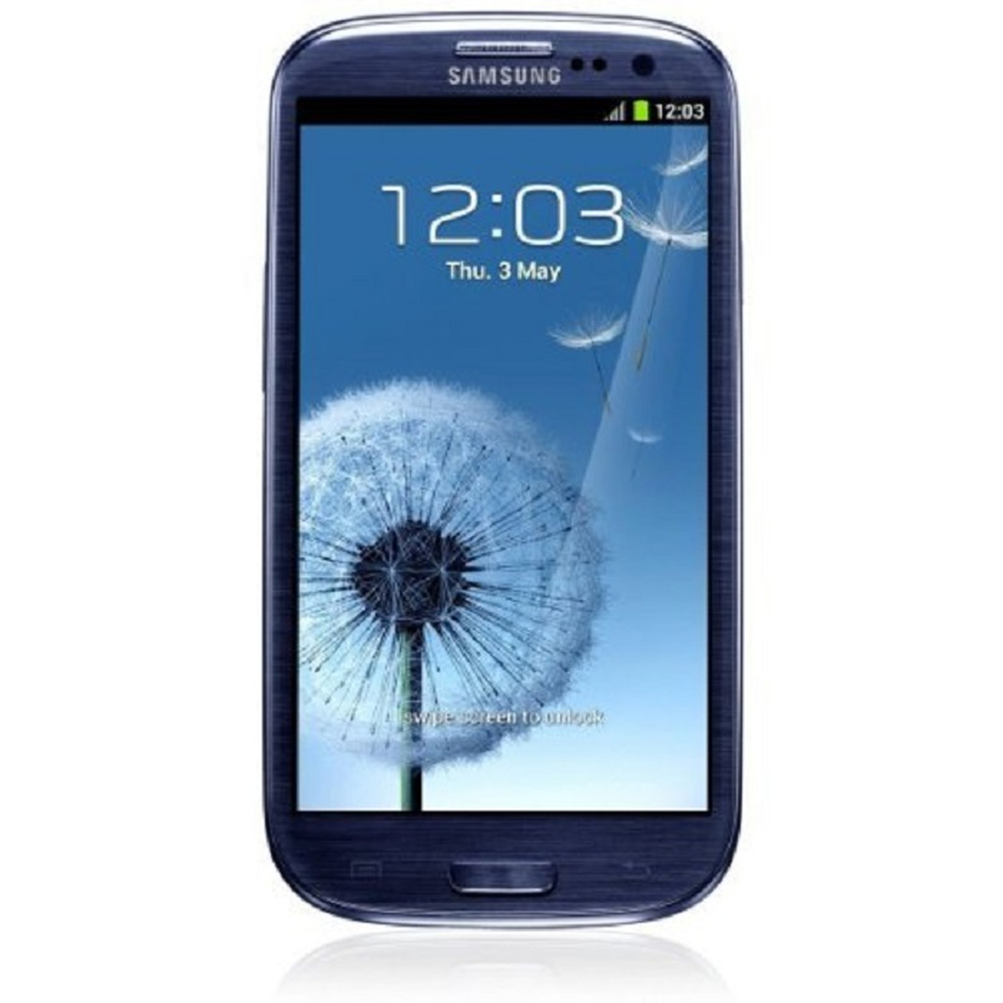 Samsung Galaxy S III i9300 Smartphone 16GB pebble-blue gebraucht - gut
